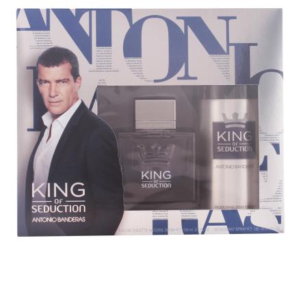 Antonio Banderas King Of Seduction Bundle Pack 2pcs. Eau De Toilete Vaporizer