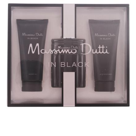 Massimo Dutti In Black Bundle Pack 3pcs. Eau De Toielte Vaporizer 100
