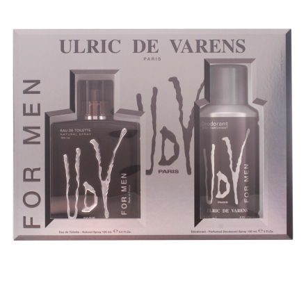 Urlic De Varens Udv Men Bundle Pack 2pcs. Eau De Toilete Vaporizer 100