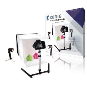 ;König Vikbar Studiofotografering 40 x 40 x 40 cm