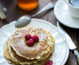 recettes de pancakes flocons d avoine sans farine sans sucre mytaste. Black Bedroom Furniture Sets. Home Design Ideas