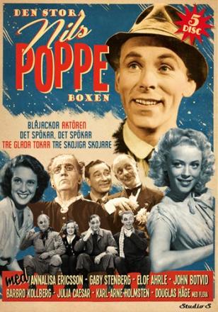 ;Den stora Nils Poppeboxen - 5 filmer