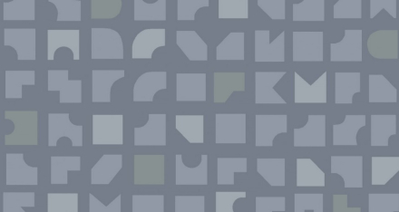 Duro Tapet Mosaik Blå