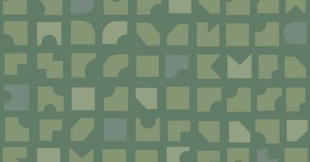Duro Tapet Mosaik Grön