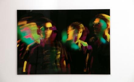 Tavla - Disco - 70x100cm Plexiglas
