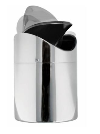 Demerx Avfallshink 1,5L Vägghängd Flipper