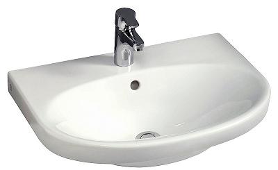 Gustavsberg Tvättställ Nautic 5556 Utan Blandarhål Med C+