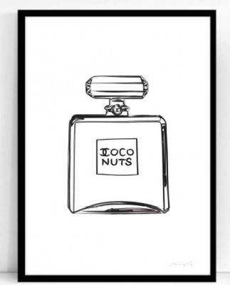 Poster ATLJÉ EPIFOR - Coco nuts (50x70 cm,50x70 cm)