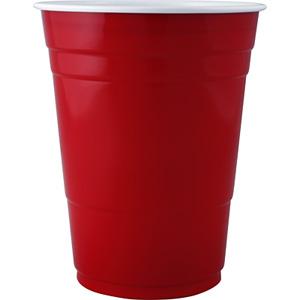 Partymugg SOLO, röd