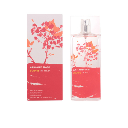 Armand Basi Happy In Red Edt Spray 100 Ml