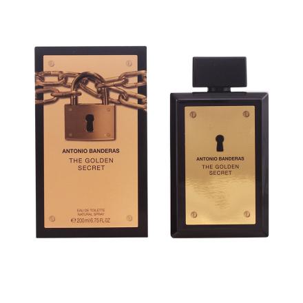 Antonio Banderas Golden Secret Edt Spray 200 Ml