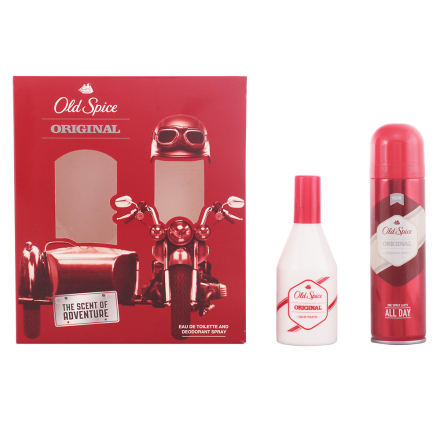 Old Spice Bundle Pack 2 Pieces. Edt Original 100ml + Deodorant Spray Wand
