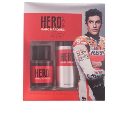 Marc Marquez Hero Marc Marquez Bundle Pack 2pcs. Eau De Toilete Vaporizer