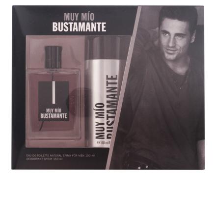 Bustamante Muy Mio Bundle Pack 2pcs. Eau De Toilete Vaporizer 100