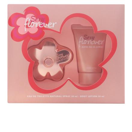 Agatha Ruiz De La Prada Sexy Florever Bundle Pack 2pcs. Eau De Toilette Vaporizer 50