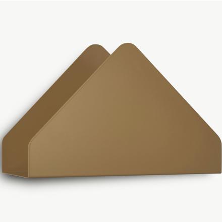 Kuvert hylla, brun