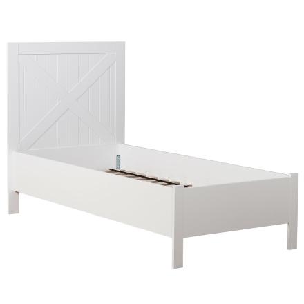 Hurva sängram vitlack - 180x200 cm