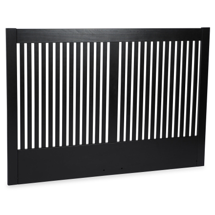 Nova sänggavel svartbetsad bok - 210 cm