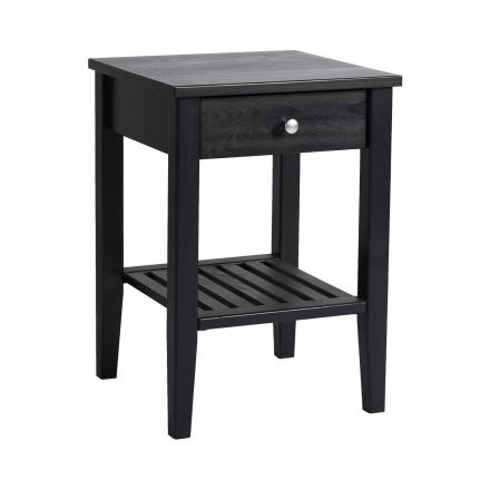 Nova sängbord svart