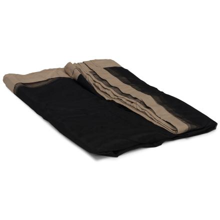 Myggnät beige/svart 4-pack för pav.storlek 3x3 m