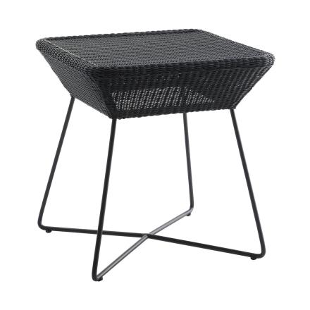Breeze sidobord 50x50 cm svart