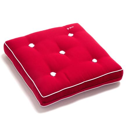 Fri Form dyna 55x55 cm röd