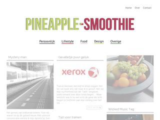 Pineapple-smoothie Pineapple-smoothie » Roxanne van Hassel Creative content design