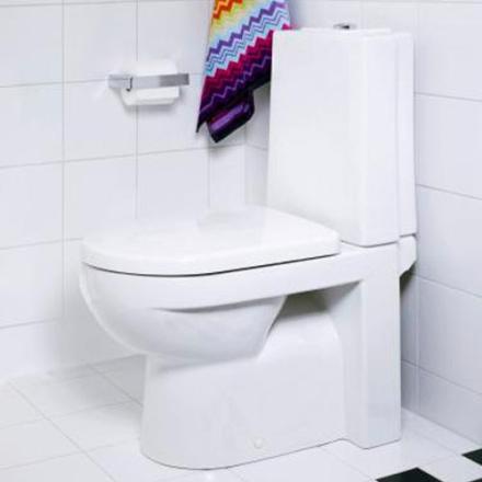 Gustavsberg Toalettstol ARTic 4310 Hårdsits Mjukstängning Vit