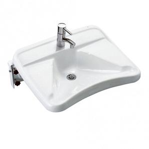 Ifö Tvättställ 2642 med Silventil Vattenlås och Vinklingsbar konsol