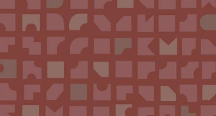 Duro Tapet Mosaik Röd