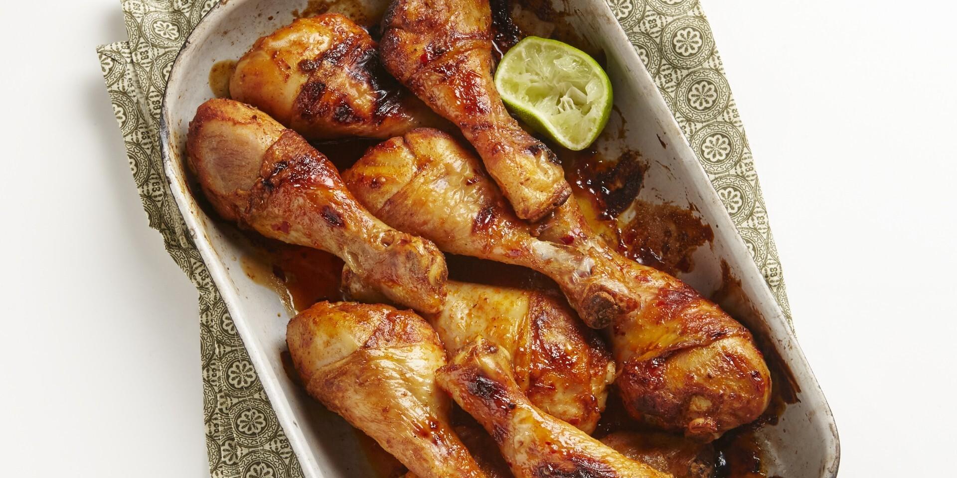 Het kyckling i ugn