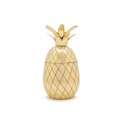 Pineapple/​ Ananas Tumbler W&P DESIGN - Guld 12oz