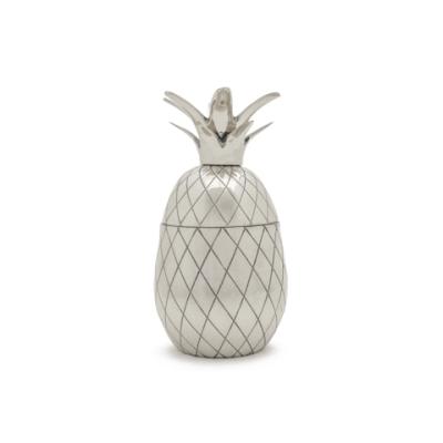 Pineapple/Ananas Tumbler - Silver 12oz