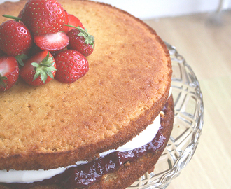 Sponge Cake Recipe Without Scales