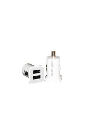 AdiFone 12V 3,1A 12V CarCharger PowerBase - White