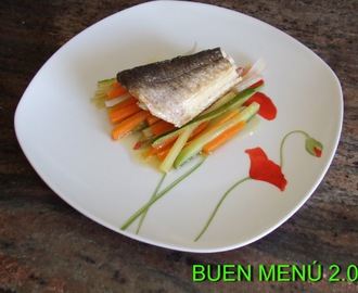 Recetas de pescado al papillote microondas mytaste - Cocinar pescado en microondas ...