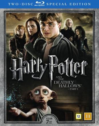 Harry Potter 7: Harry Potter och Dödsrelikerna - Del 1 (Blu-ray) (2 disc)