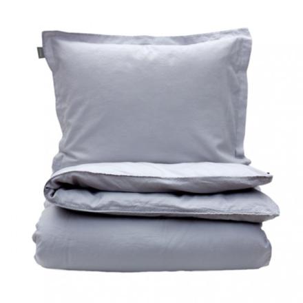 GANT Home Linen Blend Solid Påslakan Light Grey 150x210cm