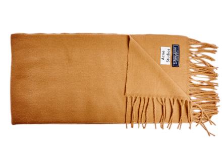 Canada Narrow scarf camel beige