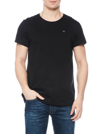 Standard face black t-shirt