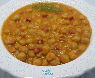 Recetas de cocido de garbanzos en olla gm mytaste - Cocido de garbanzos en olla express ...