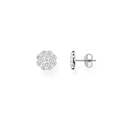 Arabesque örhängen silver
