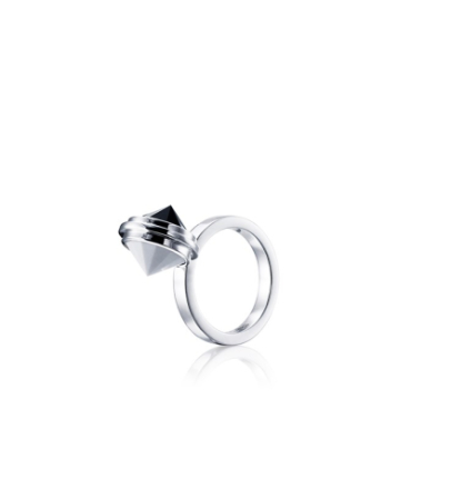 Opposites Attract Ring - 17 mm