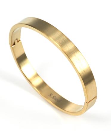 KIA Armband Matt Guld