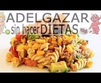 Recetas de ensalada con mazorca mytaste for Ensalada de pasta integral