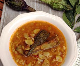 Recetas de potaje de habas secas mytaste for Como cocinar habas secas