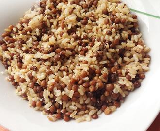 Ricette di riso integrale pentola a pressione mytaste - Cucinare riso integrale ...