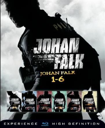 Johan Falk: 1-6 Box (6 disc) (Blu-ray)