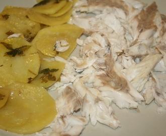 Ricette di pesce al forno su letto di patate mytaste - Pesce su letto di patate ...