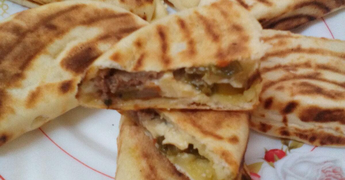 Pain turc farci recette de mytaste - Recette pain levure chimique ...